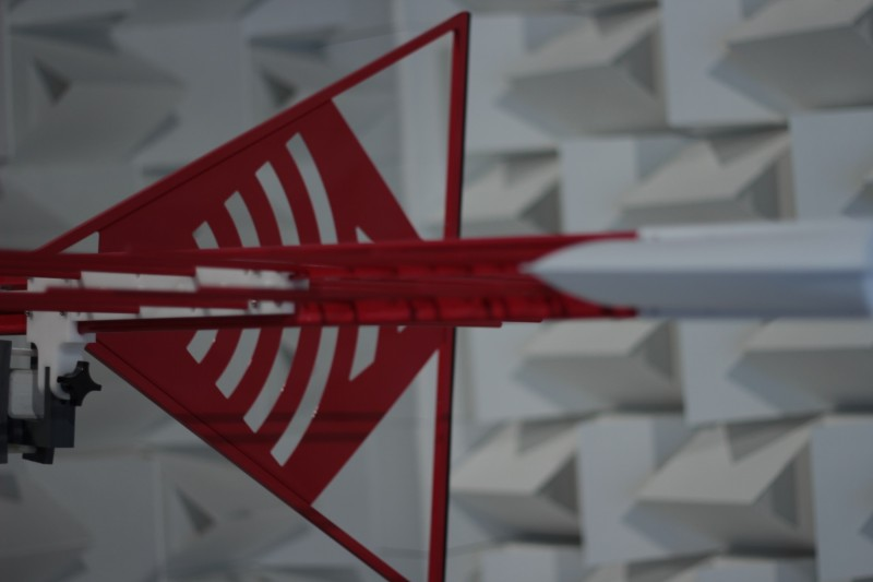 antenna camera schermata anecoica